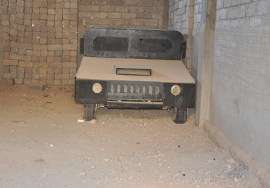 ISIL Using , Wooden Jeeps, Military Vehicles