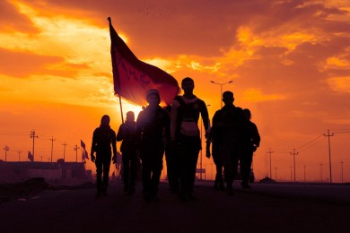 Protect  Arbaeen Pilgrims by Iraqi Popular Forces