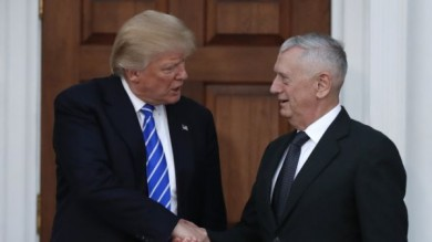 big lie'Jim Mattis  and contradictory remarks