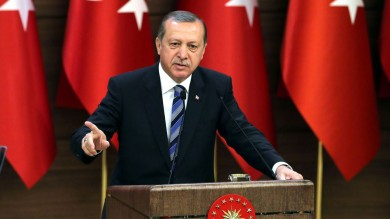 Erdogan Accuses Merkel of 'Supporting Terrorists'