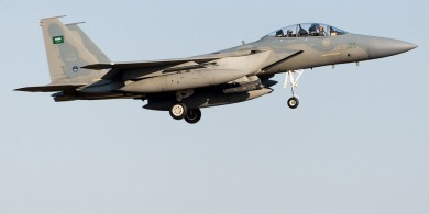 Yemeni Forces Shoot down F16 Jet in Najran