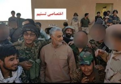 Iran's General Suleimani Inspects Iraq-Syria Border