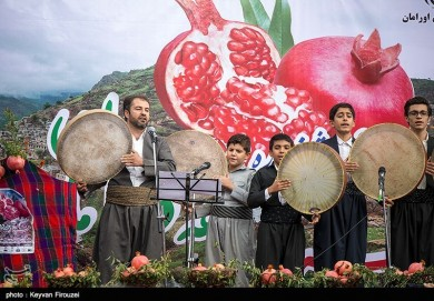 First Pomegranate Festival in Kurdistan