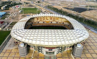 Iran's Most Advanced Football Stadium Opens in Ahvaz