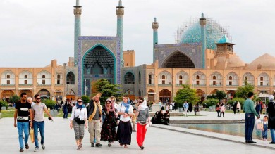 Number of Foreign Tourists Visiting Iran on Rise