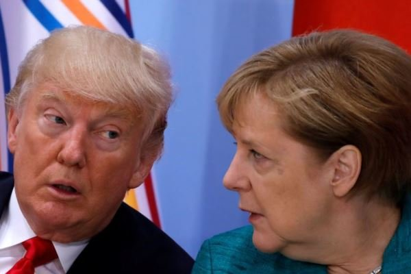 Merkel to visit Trump as Iran deadline looms