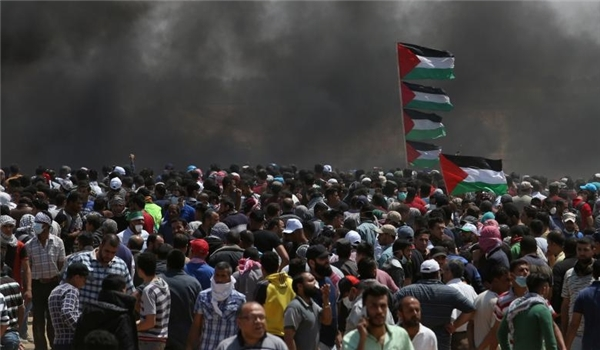Deadliest Gaza Rally in Weeks: 55 Palestinians Martyred, +2,000 Wounded by Israeli Soldiers [+Photos]