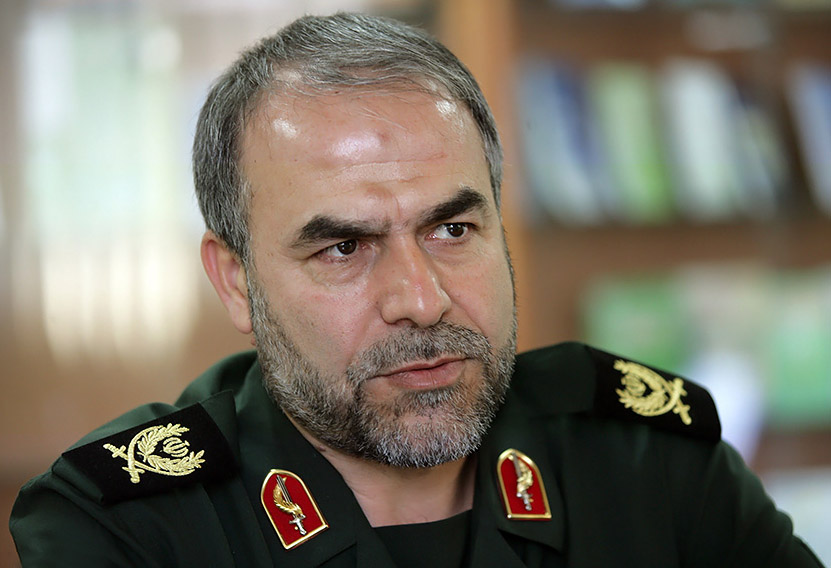 IRGC Deputy Commander: Pressures Not to Reverse Iran's Opposition to Missile Talks
