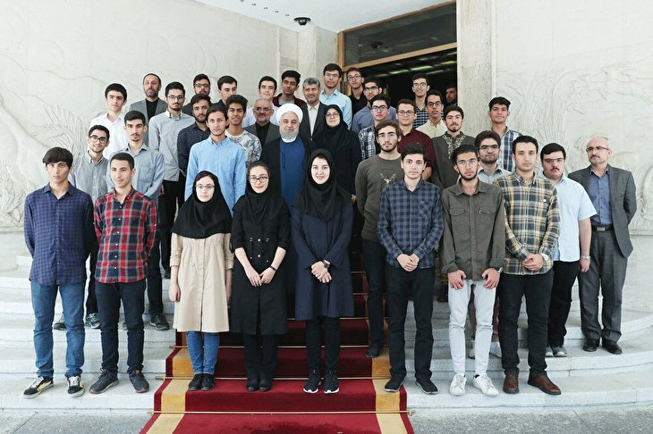 International Olympiad medal-winning students honored