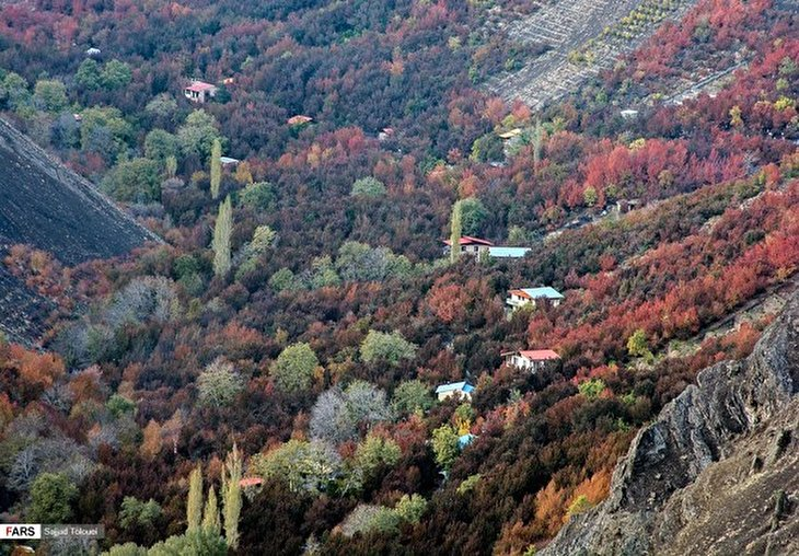"Autumn in Iran: ""Kan, Jewel of Tourism in Western Tehran"
