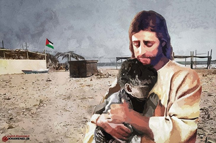 If Jesus were among us today he would fight U.S govt & Zionist regime
