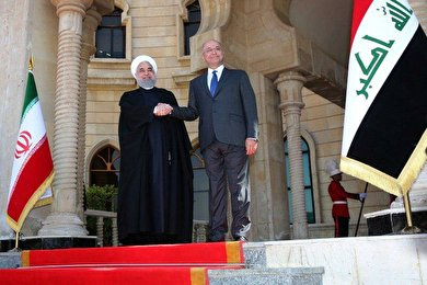 Rouhani makes high-profile visit to Iraq