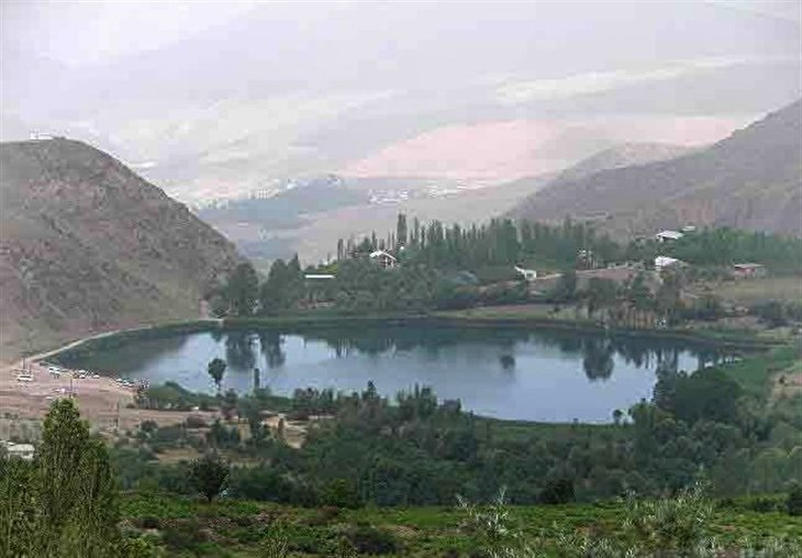 Yaleh Gonbad Village Famed for Mineral Spring