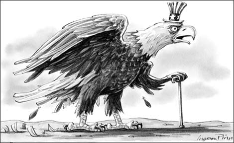 U.S. warmongering against Iran: The cries of a featherless eagle.