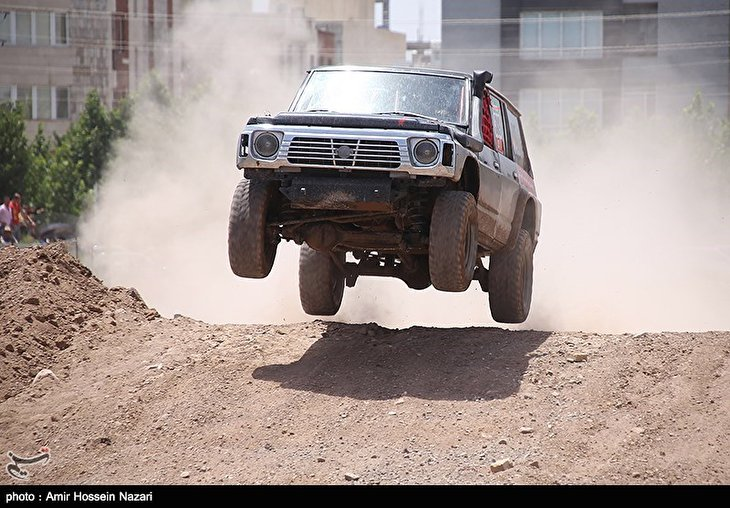 Off-Road Racers Gather in Iran's Qazvin