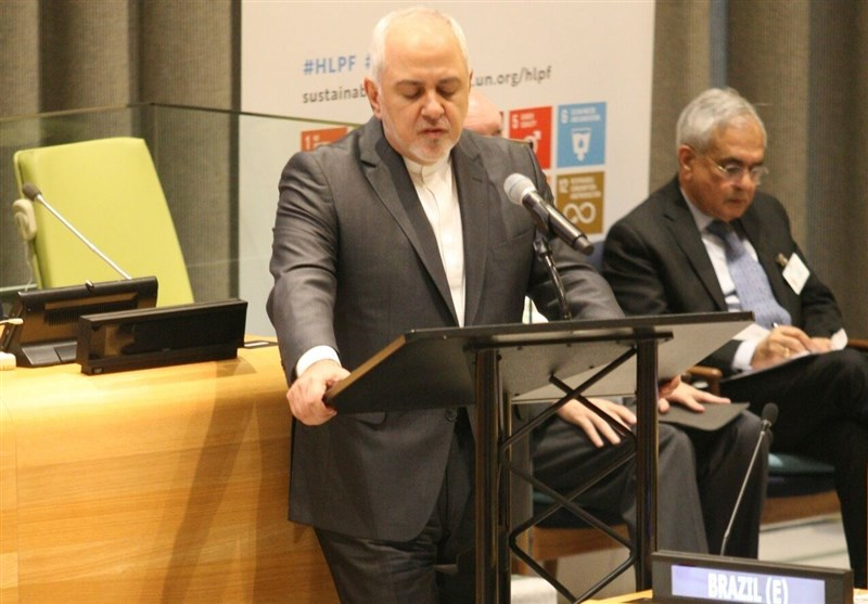 Zarif: US Sanctions Purposely Targeted at Iranian People