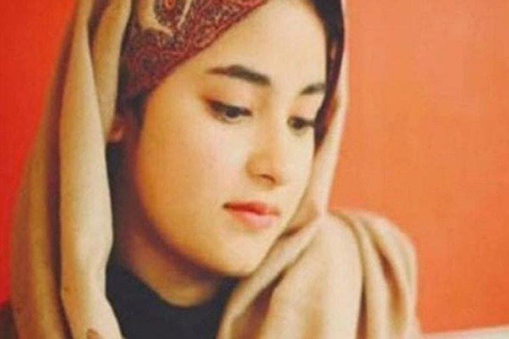 Muslim actress Zaira Wasim leaves Bollywood for Islam and to please Allah