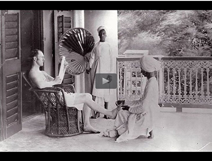 What did British colonialism do to India?