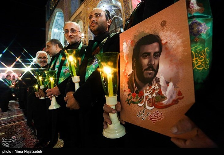 Shiite Muslims Commemorate Ashura