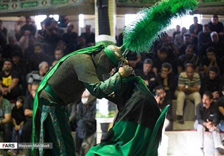 Ta'ziyeh, Ritual Performance during Muharram