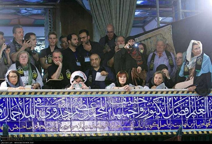 Muharram rituals capture attention of foreigners