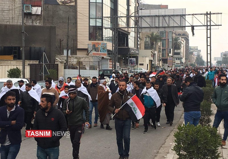 Biggest-Ever Rally Held in Baghdad to Urge Expulsion of US Troops + photo