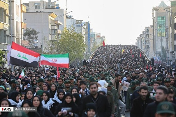 Millions of Iranians Attend General Soleimani's Funeral in Tehran