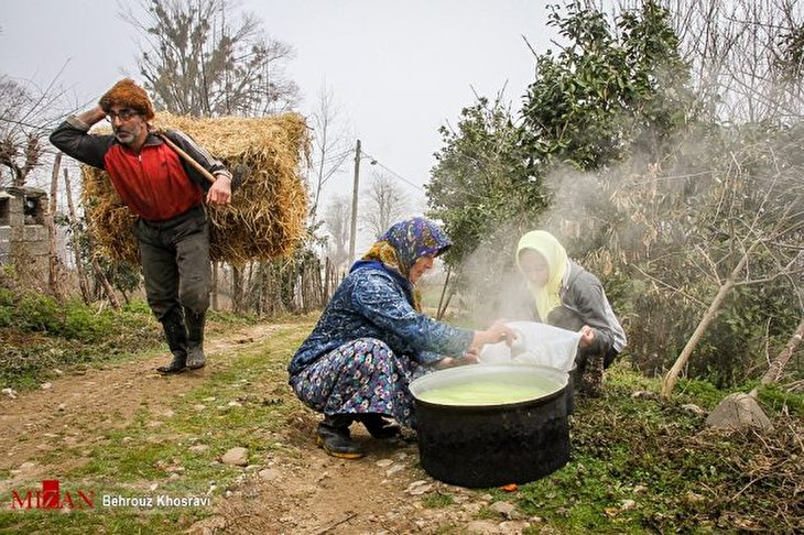 Spring Cleaning for Nowruz in Northern Iran