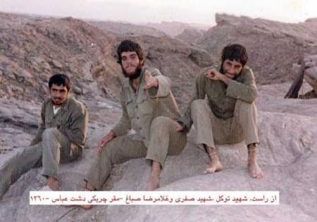 نتیجه تصویری برای شهدای دشت عباس