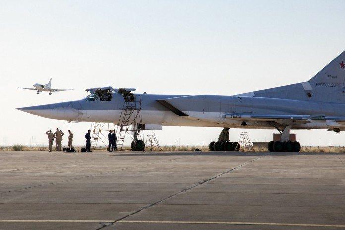 پیام های استفاده روسیه از پایگاه هوایی همدان