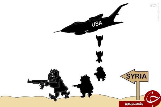 حملات اشتباهی یا جبهه دوم نبرد با مردم سوریه