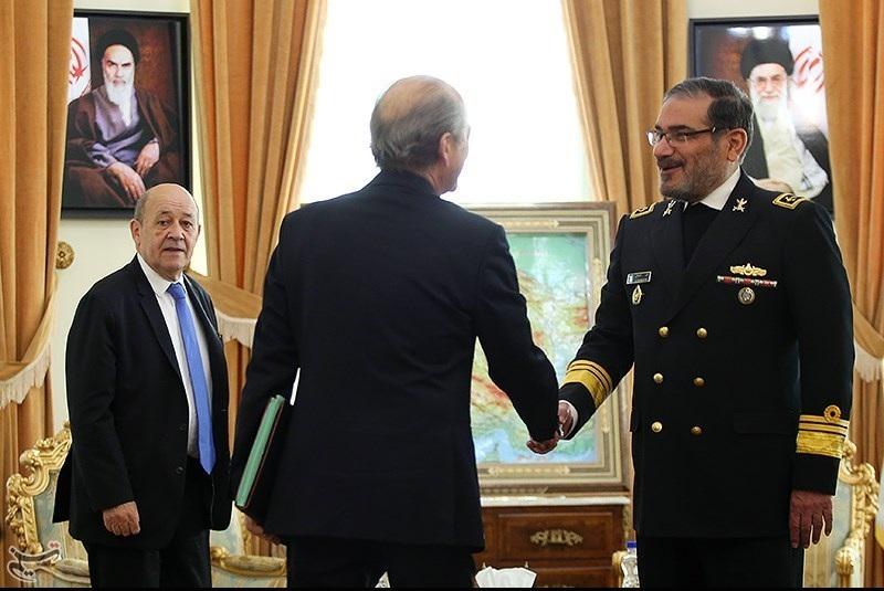 لودریانپیام آور آمریکا یا وزیر امور خارجه فرانسه؟!