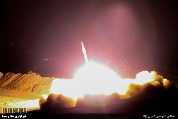 پیام های حمله موشکی سپاه پاسداران علیه تروریست های داعشی