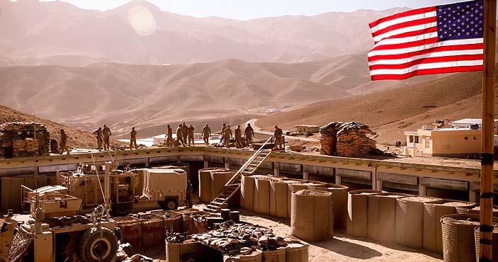 پایگاه های آمریکا در تیررس موشک های سپاه