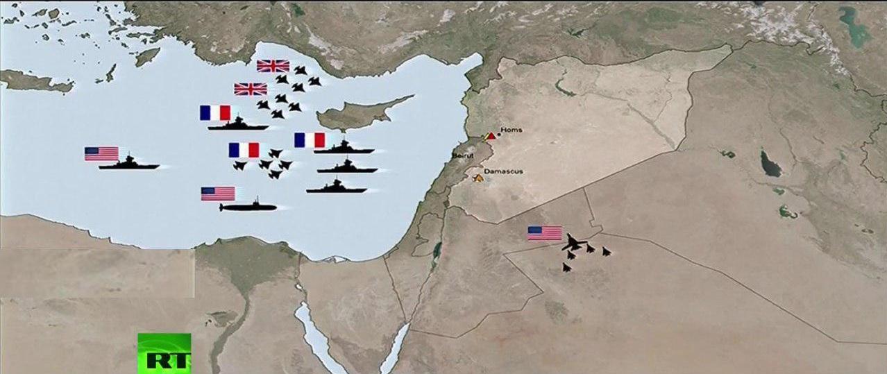 ابعاد، اهداف و پیامدهای حمله سه جانبه به سوریه