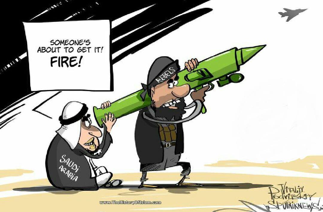 آل سعود چگونه دست به اصلاحات می زند؟+کاریکاتور