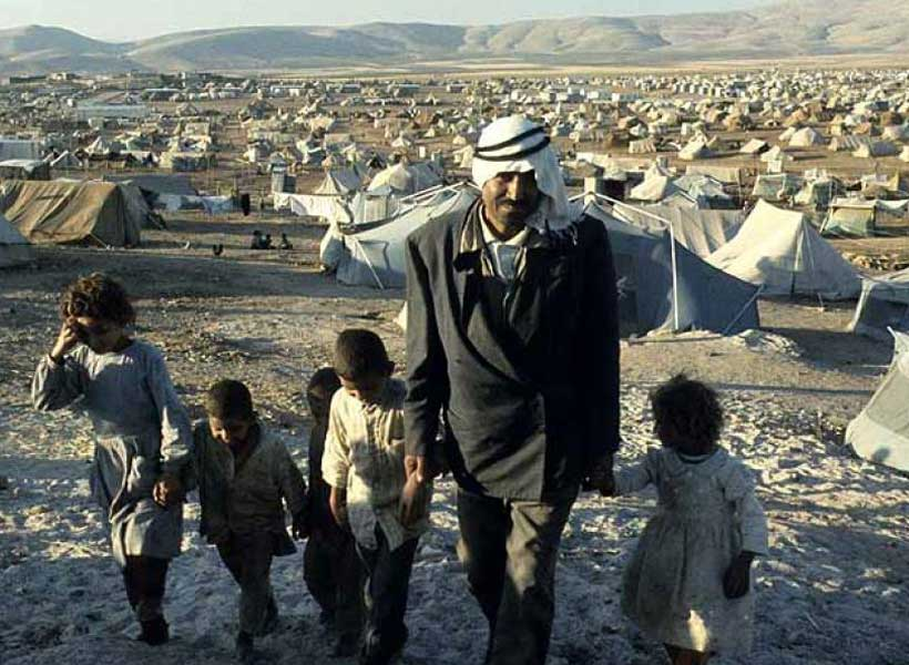 ترامپ به دنبال حذف آوارگان فلسطینی