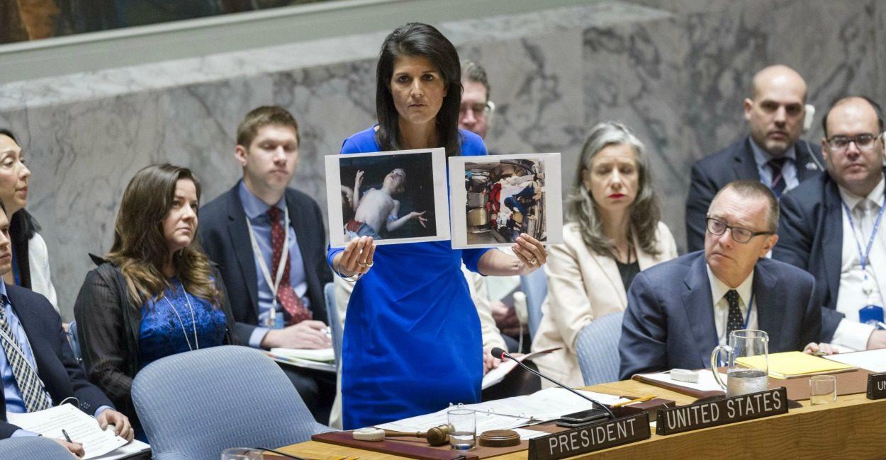 نمایش شیمیایی جدیدی در سوریه به راه می افتد؟