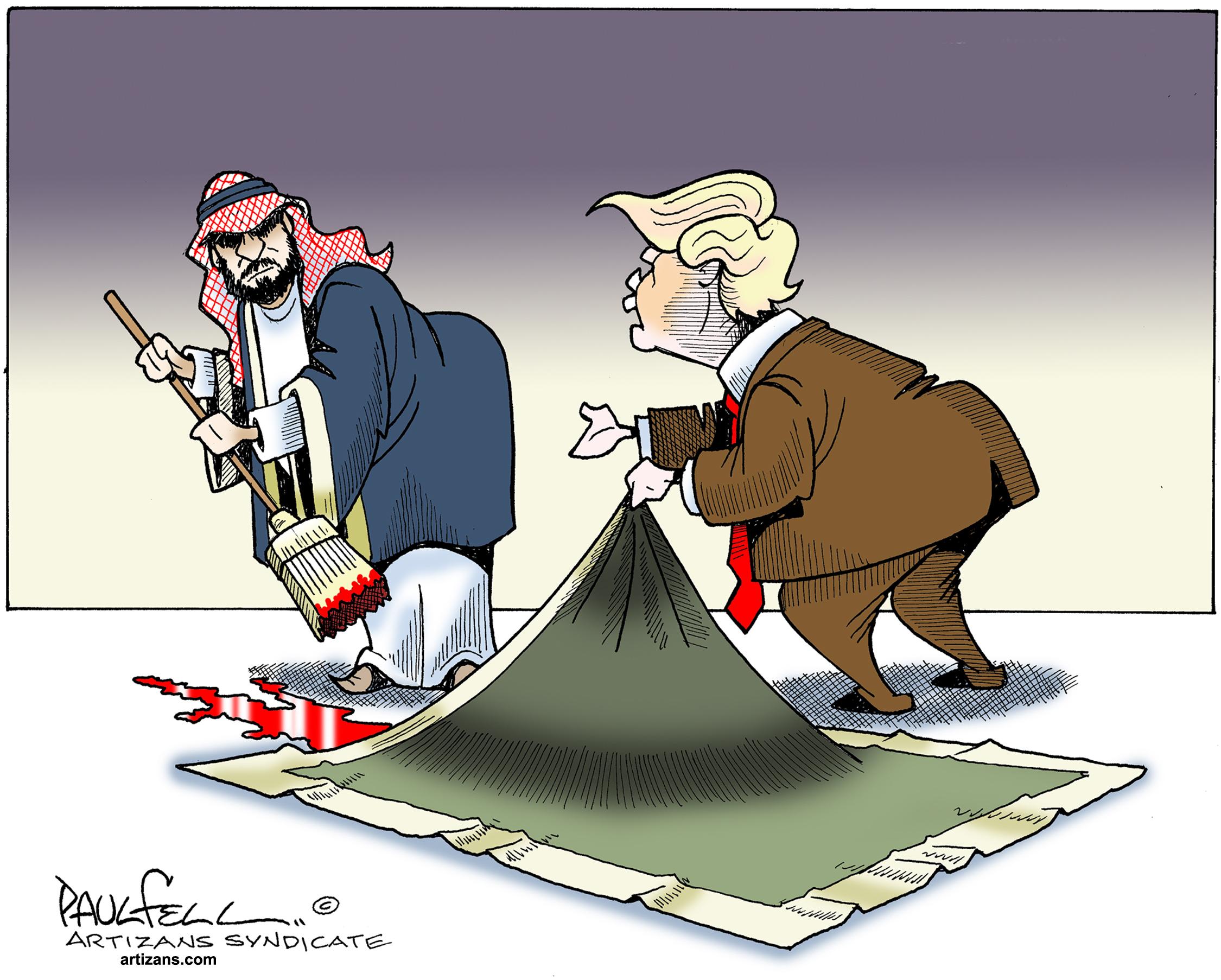 قتل خاشقچی؛ چاه سعودی و چاله ترامپ
