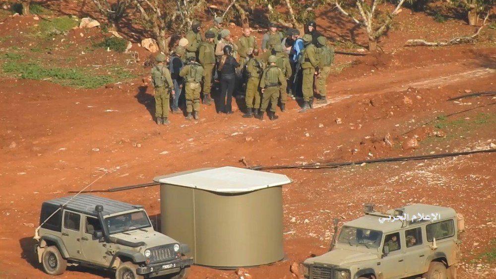 جابجایی زمین جنگ آینده با تونل های حزب الله+تصاویر